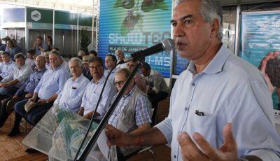 Reinaldo Azambuja defende fim da burocracia que impede desenvolvimento do setor produtivo