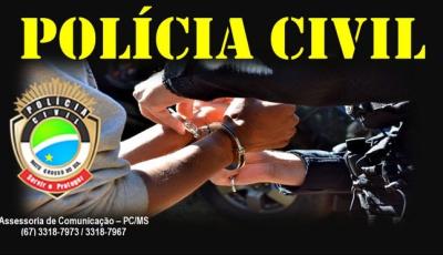 Polícia Civil prende responsável por filmar cena de sexo envolvendo menina de 13 anos em Bonito (MS)