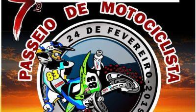 Miranda vai promover o primeiro passeio motociclístico de 2019, inscrições já abertas