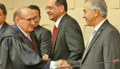 Novo presidente do TJ diz que administração do Governo Reinaldo Azambuja é um exemplo a ser seguido