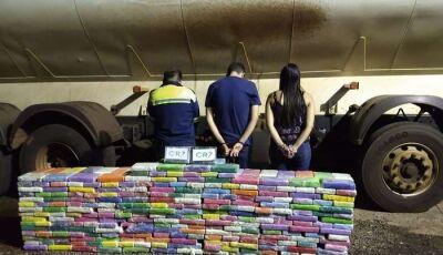 Polícia Militar apreende 537,2 kg de droga avaliadas em R$16 milhões