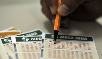 Mega-Sena sorteia hoje prêmio de R$ 43 milhões