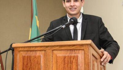 Lucas faz balanço de 1 ano como vereador e destaca avanço e cobranças em Bonito (MS)