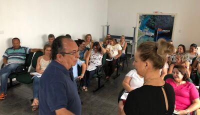 Odilson pede empenho de todos da REME durante reunião que discutiu a volta às aulas em Bonito (MS)