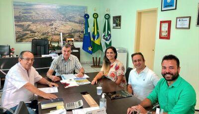Prefeito recebe organizadores do 2º Congresso Holístico, mais um grande evento em Bonito (MS)