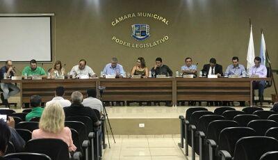 Vereadores solicitam ao senador Nelson Trad asfalto para Avenida Matheus Muller em Bonito (MS)