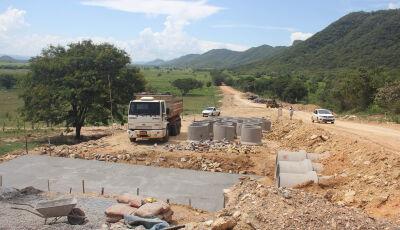 Estado investe R$ 5,5 milhões em obra para garantir tráfego e segurança na MS-339 em Bodoquena