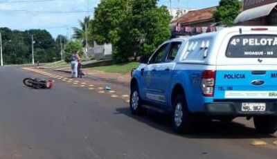 PM apreende, em Nioaque, motocicleta com sinal identificador de veículo automotor adulterado