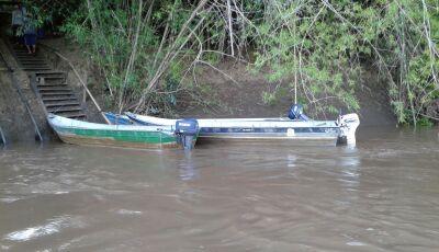 PMA autua dois infratores por pesca ilegal e apreende barcos, motores e petrechos de pesca em Bonito