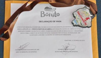 Escola Sagrada Família e BCG serão as representantes de Bonito na maior competição Escolar do Estado