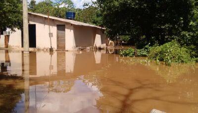Em Bonito, Defesa Civil e SAS removem moradores em Águas do Miranda