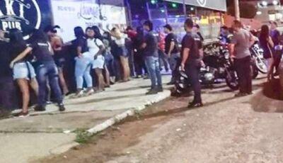 Operação prende 25 e recolhe 67 adolescentes por exposição a drogas e álcool