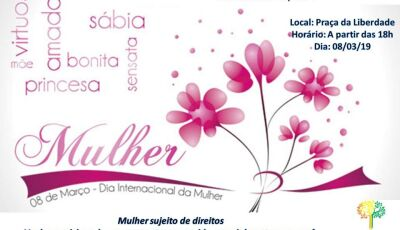 Na Praça da Liberdade, programação especialmente para a mulher acontece nesta sexta em Bonito (MS)