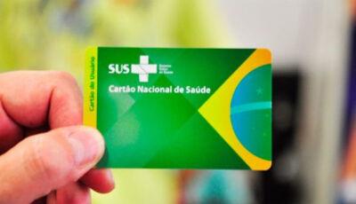 Muita gente não sabe, mas cartão do SUS é obrigatório até para quem tem plano de saúde