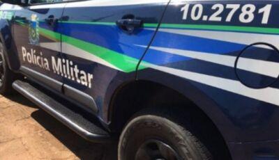 Polícia Militar de Guia Lopes da Laguna prende dois homens por furto de veículo