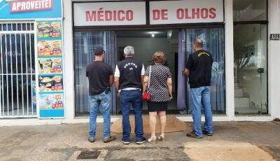 Procon Estadual interdita clínica médica e autua ótica em Jardim (MS)