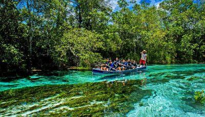 Mesmo com a crise e chuvas, Turismo demonstra sinais de recuperação em Bonito (MS)