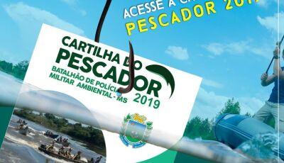 Atenção pescadores, a legislação de pesca em Mato Grosso do Sul mudou, baixe a nova cartilha aqui