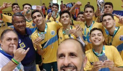 Seleção vice-campeã brasileira têm dois jogadores de Bonito (MS)