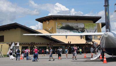 Aeroporto vai suspender pousos e decolagens em Bonito (MS)