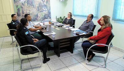 Prefeito e comandante da PM debatem continuidade do PROERD em Bonito