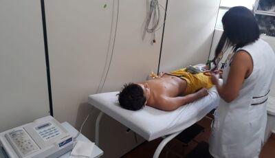 Em Bonito (MS), Alunos que participarão dos Jogos Escolares realizam exames médicos