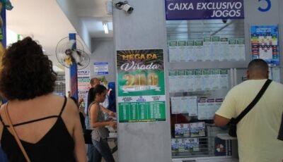 Mega-Sena acumula de novo e pode pagar até R$ 45 milhões no sábado