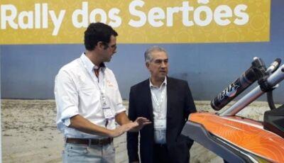 Em SP, Reinaldo quer usar Rally dos Sertões para expandir turismo em MS