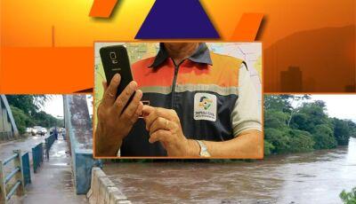 Em Bonito (MS), Defesa Civil emite alerta para Águas do Miranda e áreas ribeirinhas