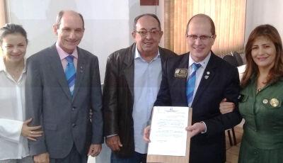 Em Bonito, Prefeito recebe representantes da 42ª Conferência do Rotary Club
