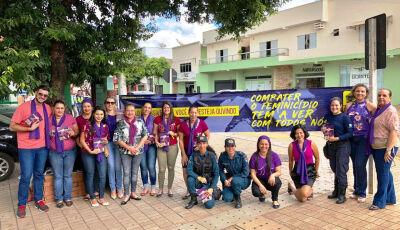 SAS realiza blitz educativa para conscientizar contra o feminicídio em Bonito (MS)