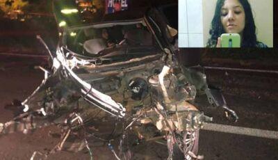 Adolescente de 14 anos morre em grave acidente com três veículos