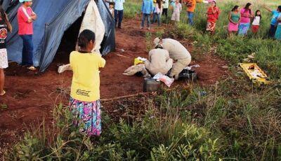 Raio mata duas pessoas em aldeia indígena em MS