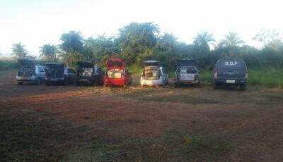 MARACAJU: DOF apreende Comboio de seis veículos com mercadorias do Paraguai