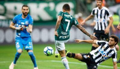 Palmeiras e Santos se enfrentam no Pacaembu de olho na liderança do Brasileirão