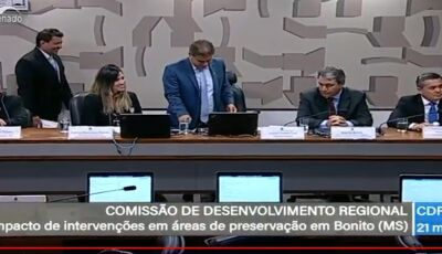 #AGORA: AO VIVO, Bonito (MS) é discutido no Senado Federal, ASSISTA