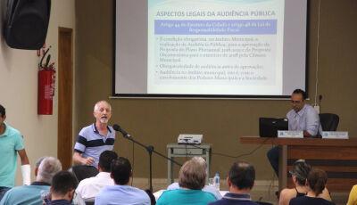 Prefeitura realiza audiência na Câmara sobre proposta orçamentária para 2020 em Bonito (MS)