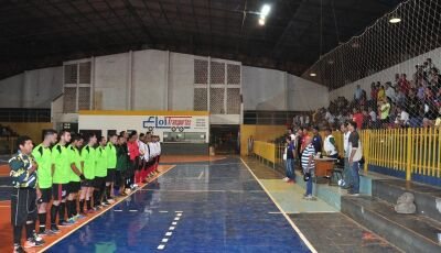 Confira as FOTOS e Tabela da abertura do 3º Campeonato de Futsal e Copa Ouro em Bonito (MS)
