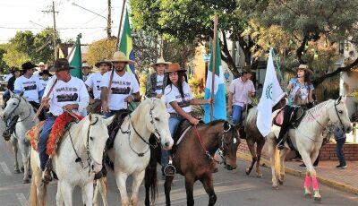 Confira as FOTOS da cavalgada e pedalada em comemoração 91ª Festa de São Pedro em Bonito (MS)