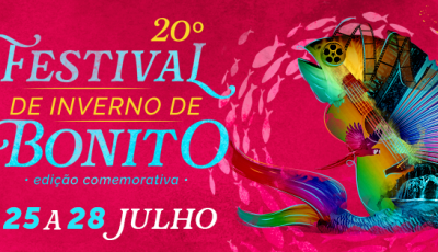 Fundação de Cultura faz lançamento oficial dia 2 de julho do Festival de Inverno de Bonito (MS)