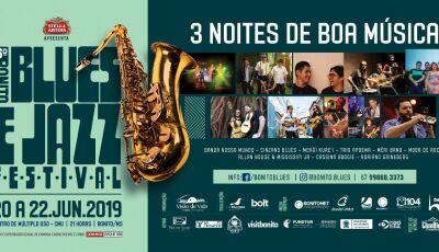 Saiba tudo sobre o 6º Bonito Blues & Jazz Festival que acontece durante o feriado de Corpus Christi