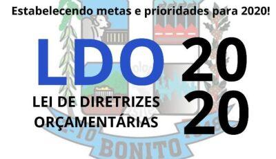 Câmara realiza primeira votação da LDO para exercício de 2020 em Bonito (MS)