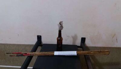 Indígenas invadem propriedade e atacam policiais com flechas e coquetel molotov em Dourados