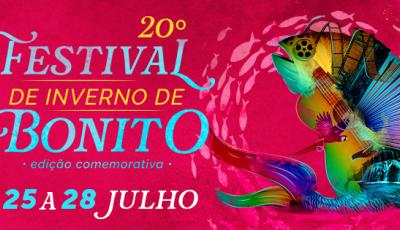 Tudo gratuito: Festival de Inverno começa 'antes' com oficinas, teatro e cinema em Bonito (MS)
