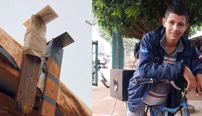 Menino cria sistema de energia para abastecer barracos em SIDROLÂNDIA