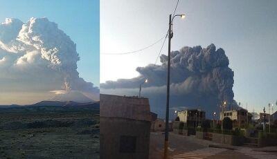 Cinzas de vulcão peruano provocam cancelamento de voos para Campo Grande e Bonito (MS)