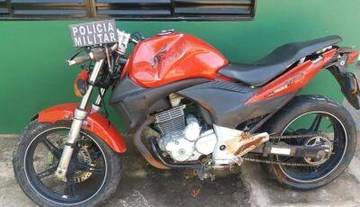 Ação conjunta das polícias de Bonito e Bodoquuena por furto e recupera motocicleta