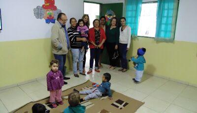 Reforma e ampliação do CEI Laura Vicuña é entregue a comunidade em Bonito (MS)