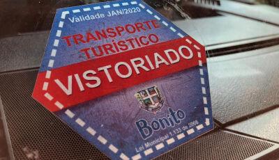 DEMTRAT inicia vistoria de veículos de transporte turístico em Bonito (MS)
