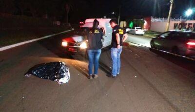 Pedestre é atropelada por carro e morre em avenida de MS